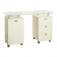 Маникюрный стол 219 стекло