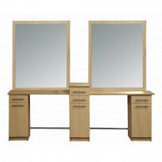 Парикмахерское зеркало Саба двойное