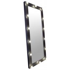 Зеркало для барбершопа, 180*80, черное